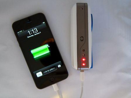 charger la batterie